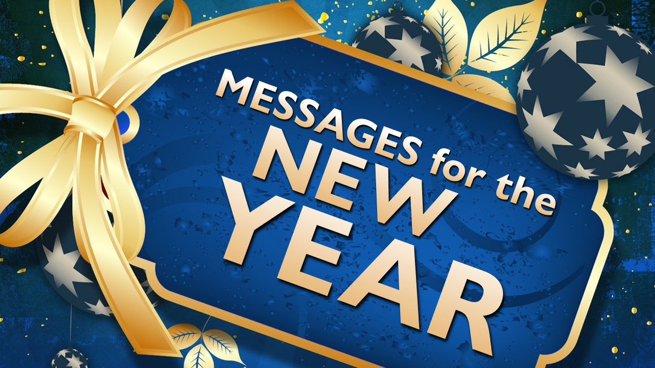 Messages for the New Year