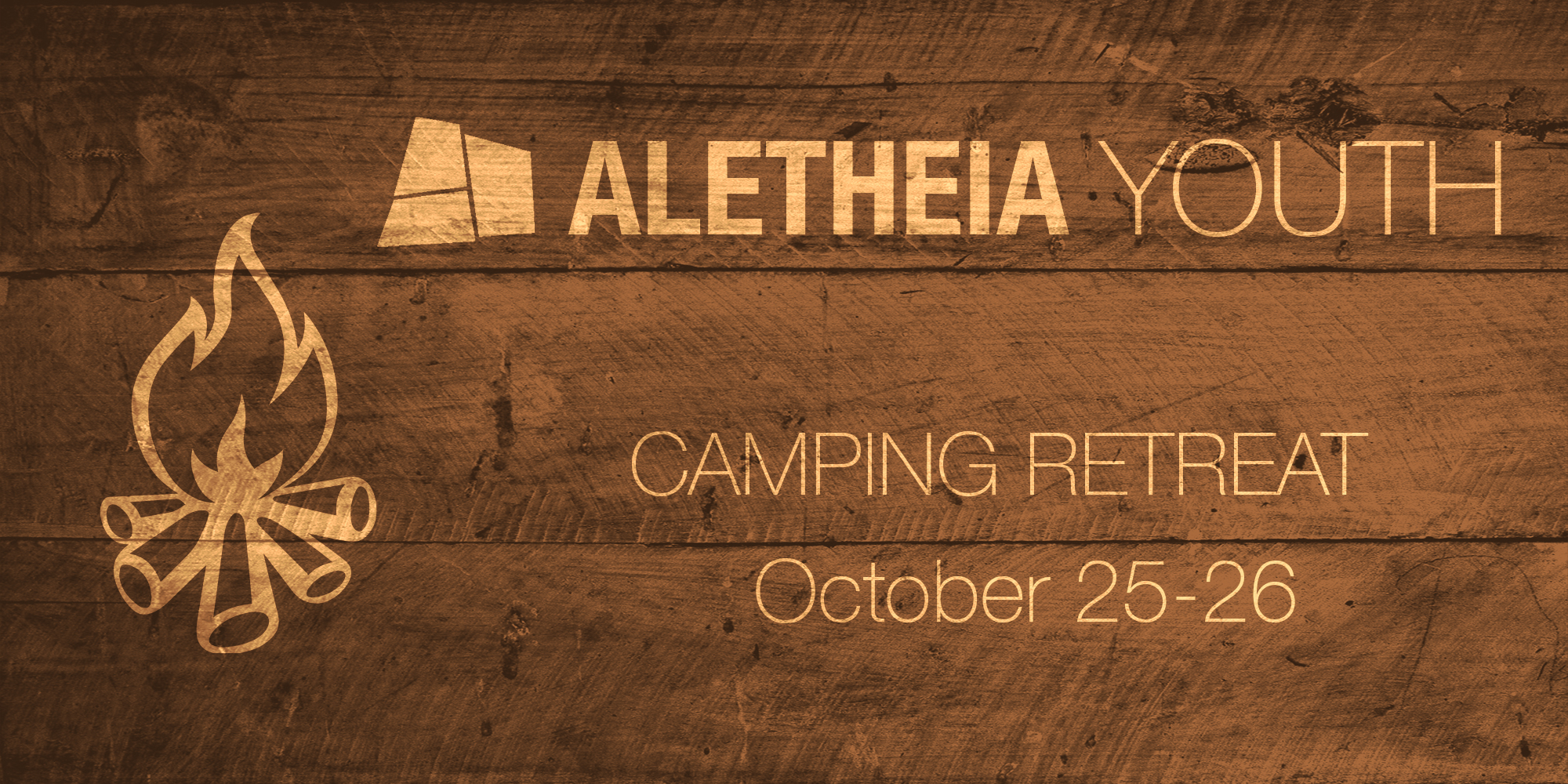 Aletheia Youth Campfire Banner image