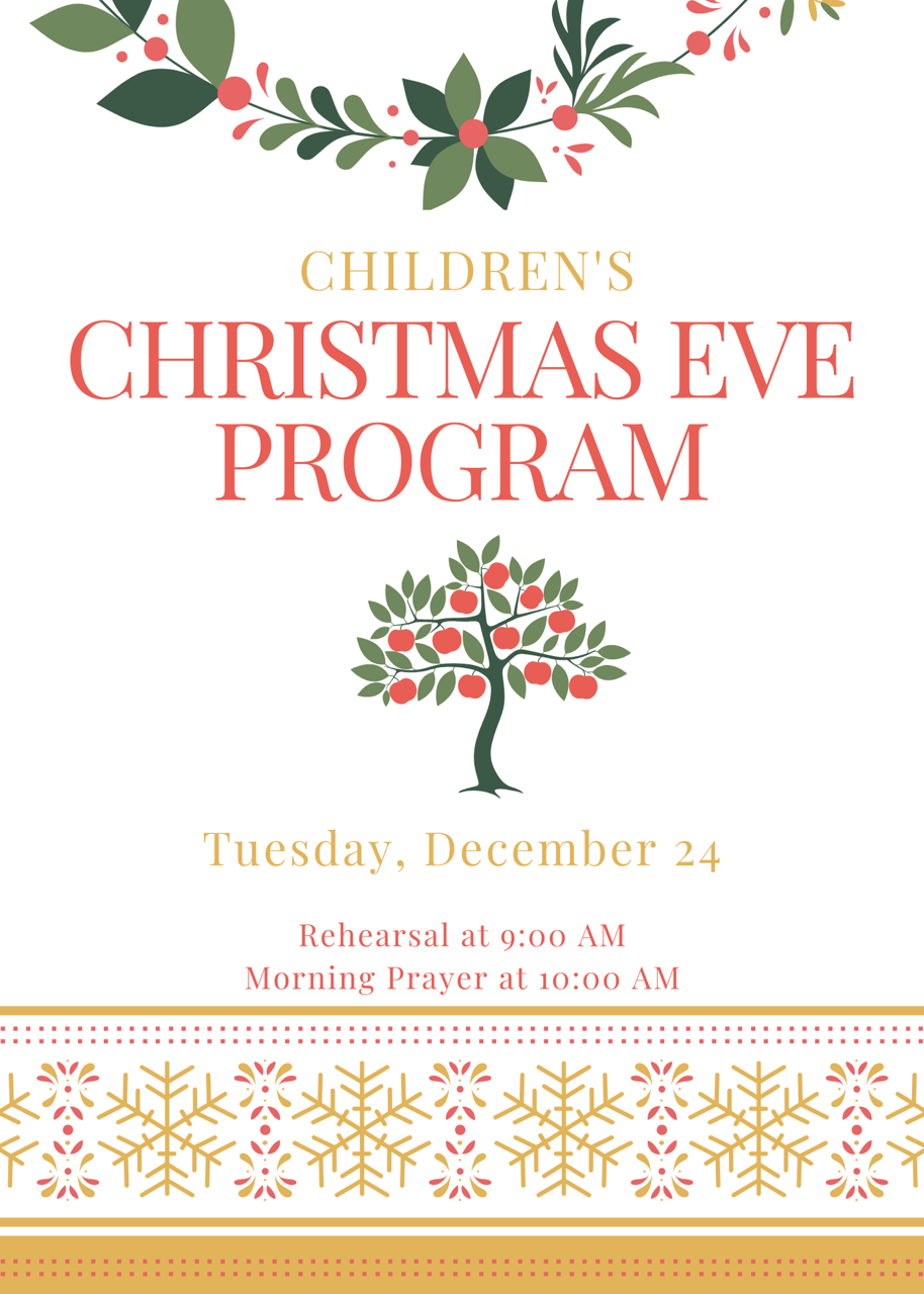 Christmas Eve Program