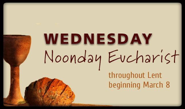 Lent Noonday Eucharist web