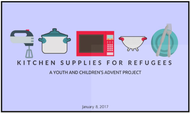 Supplies for Refugees web