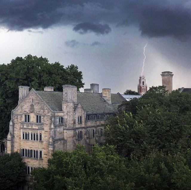 Yale Lightning Strike