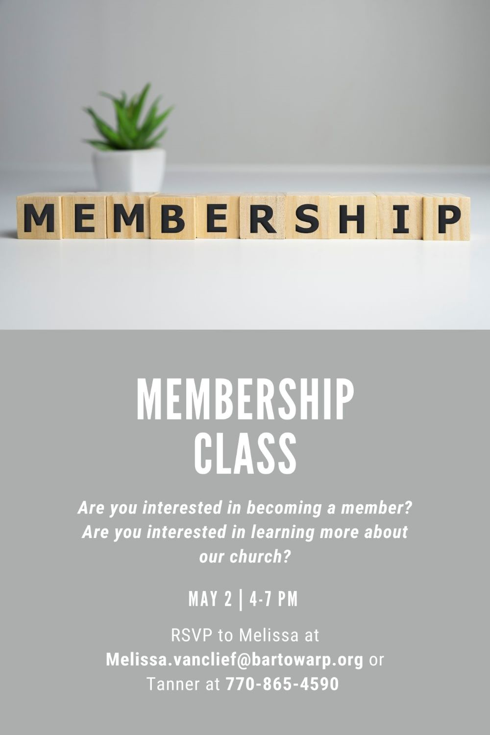 MemberShip Class Flyer cropped 2
