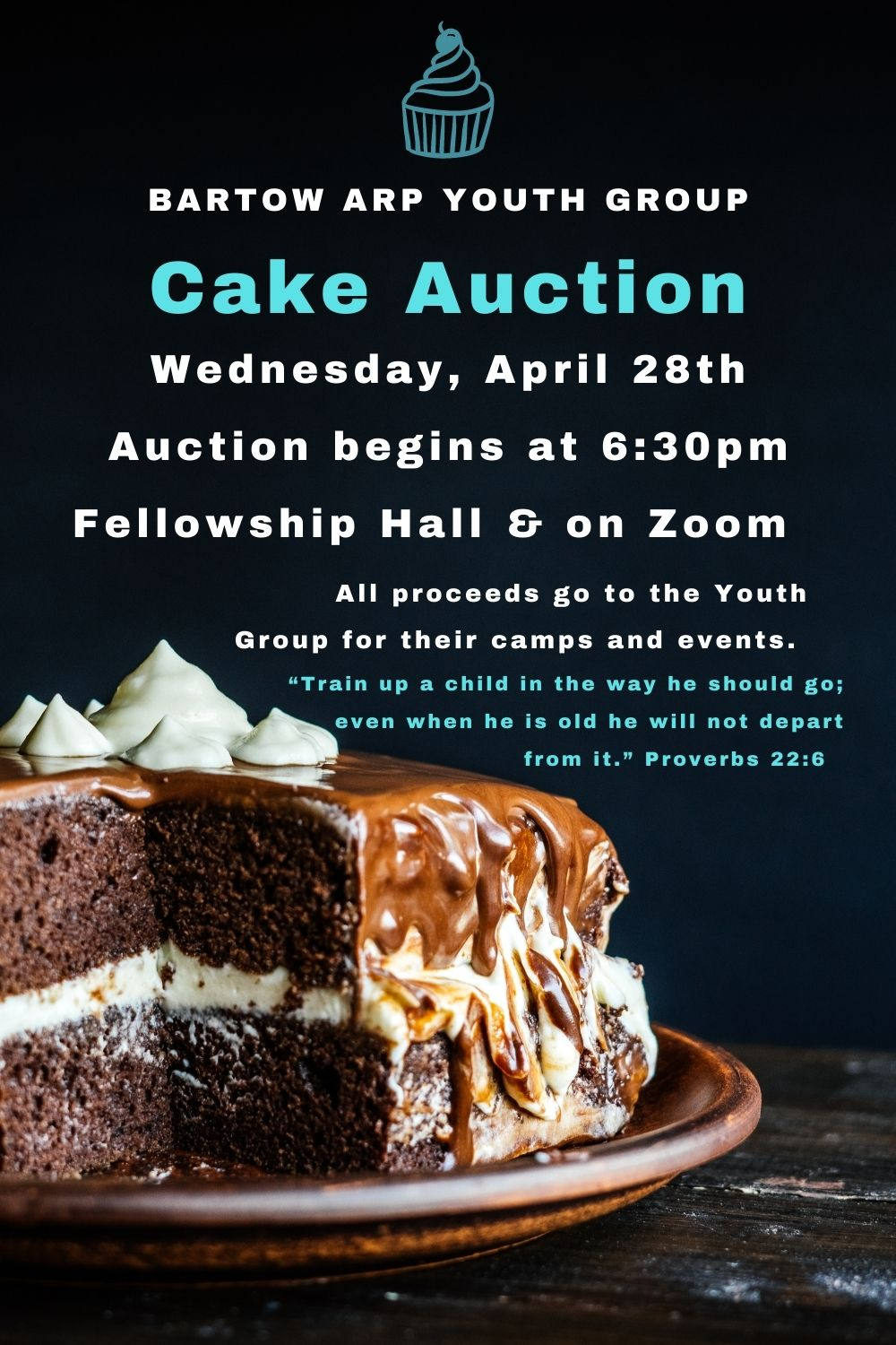 Updated Youth Cake Auction 3-30-21