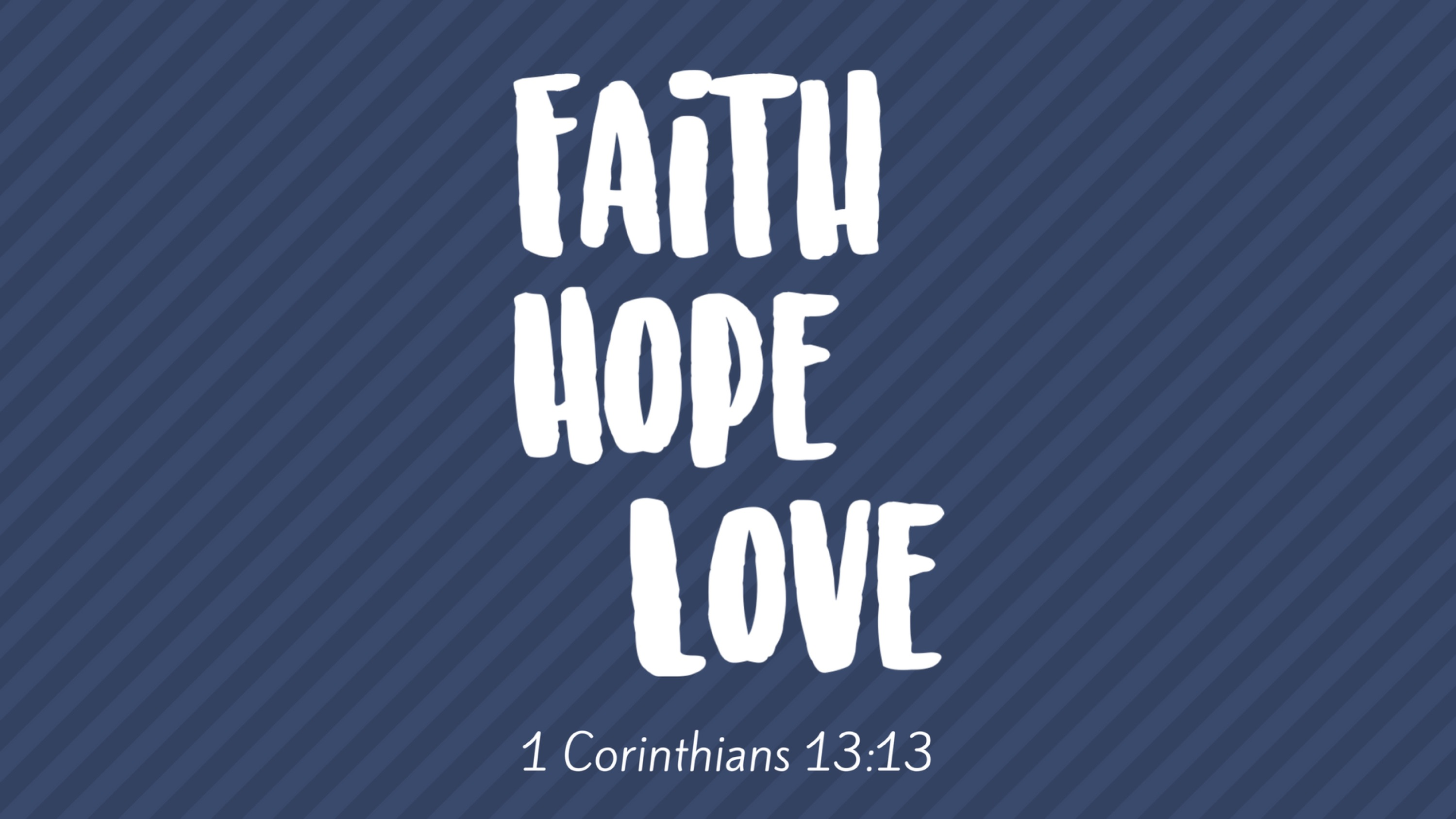 Faith Hope Love BLOG