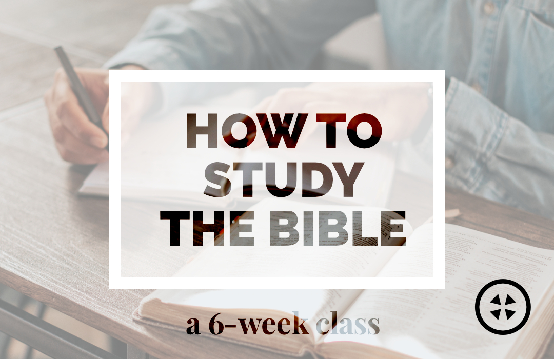 Events_How to Study the Bible image