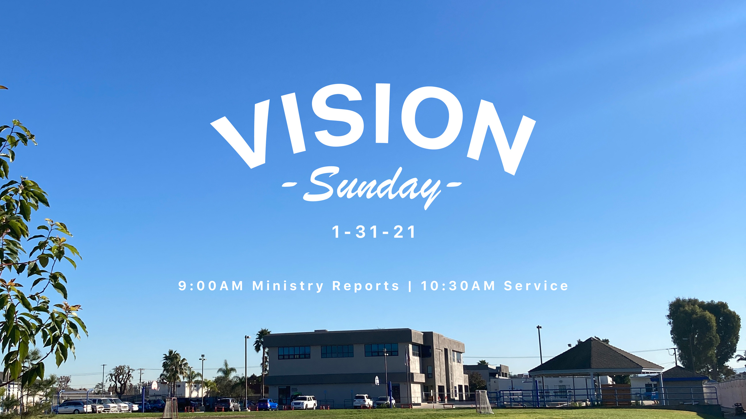 Vision Sunday Slide image