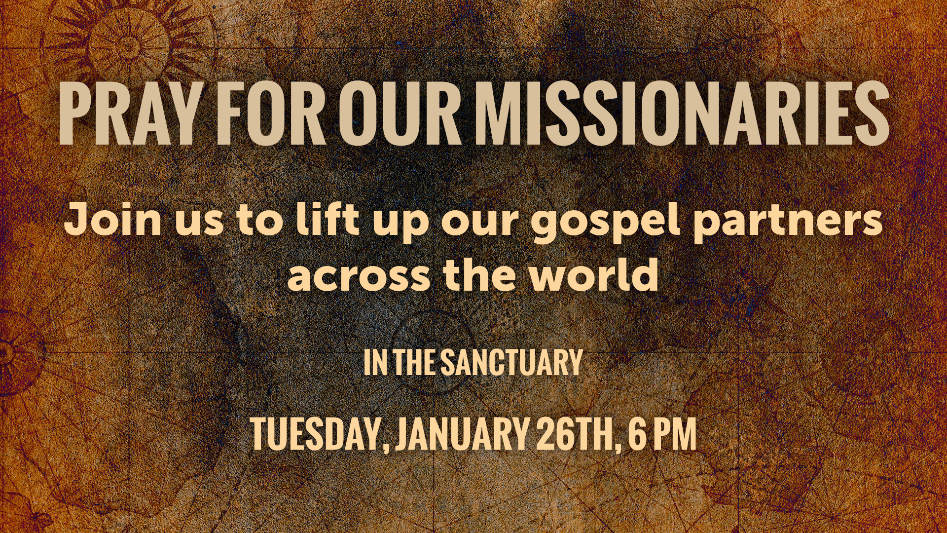 Pray for Our Missionaries