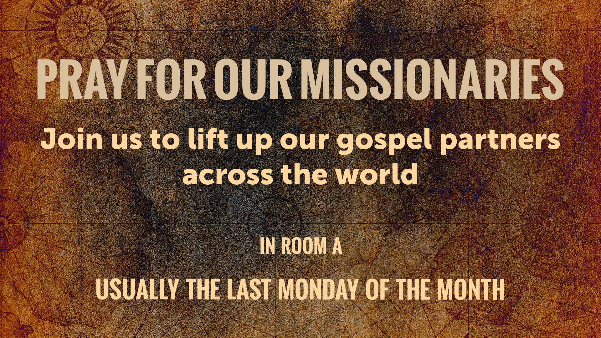 Website Pray for Our Missionaries image