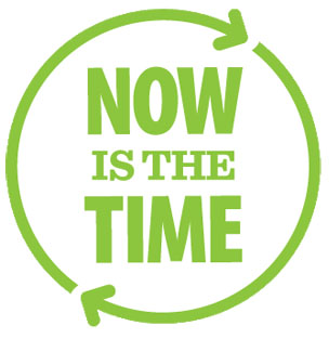 Now is the Time Logo