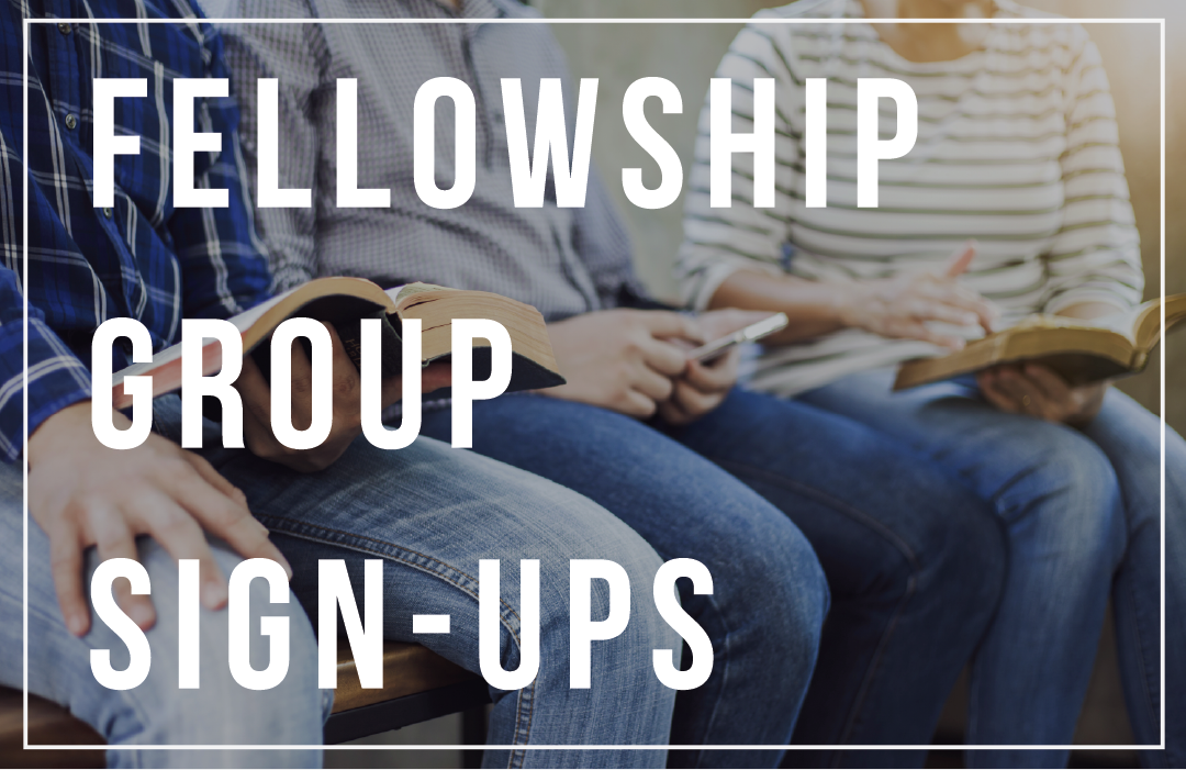 fellowship group sign ups