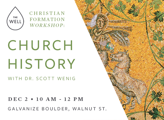 Church History Workshop banner