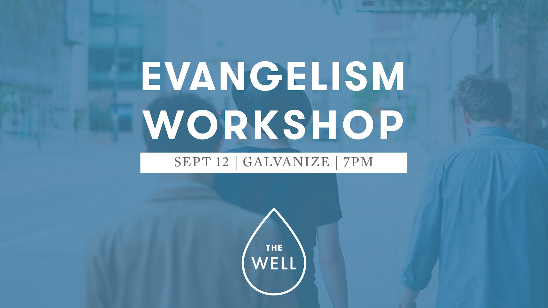 Evangelism Workshop banner