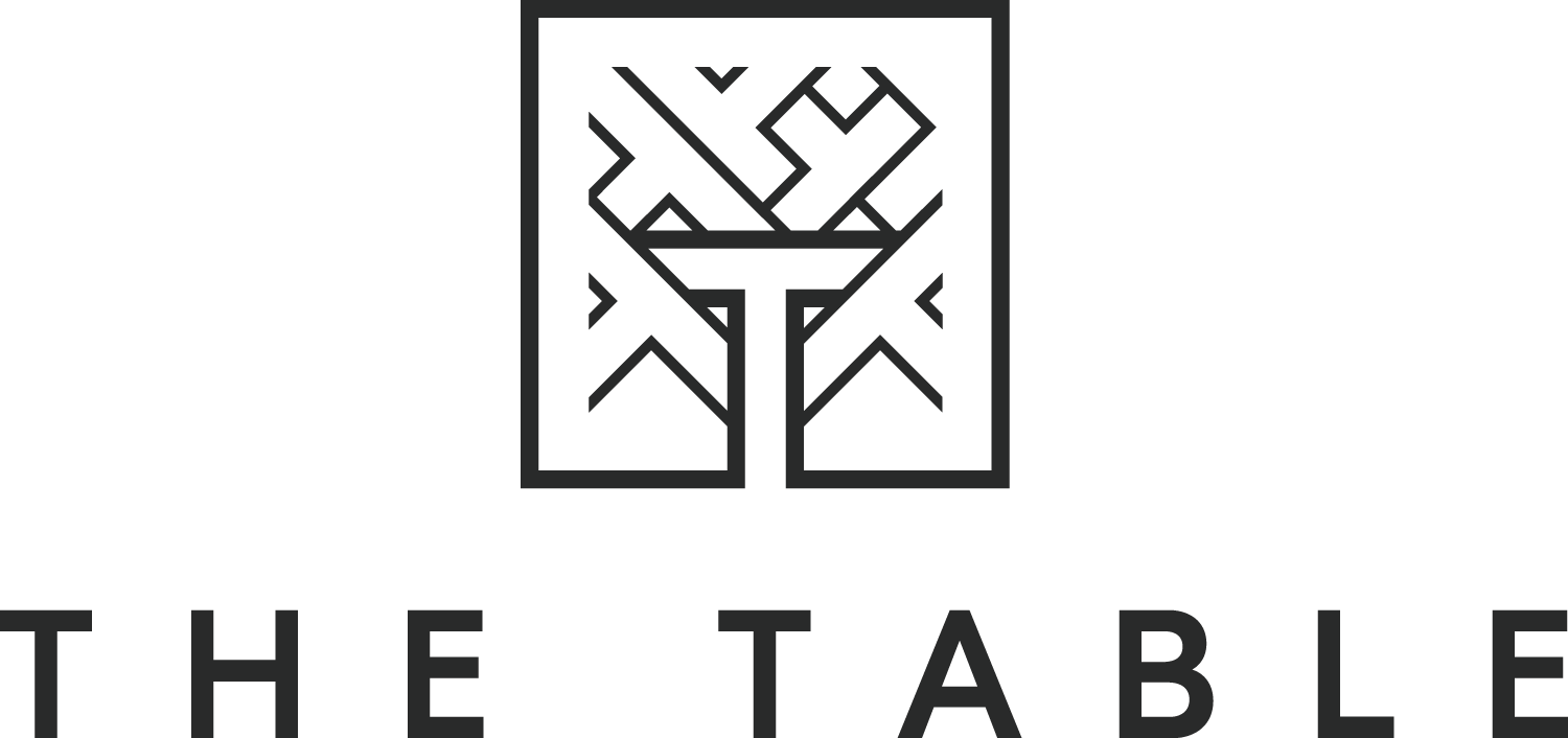 The Table_Logo_Black