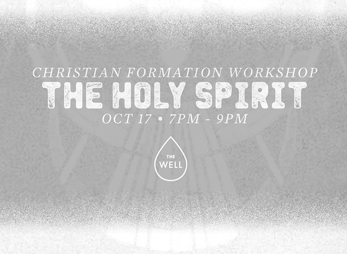 The Holy Spirit Workshop banner