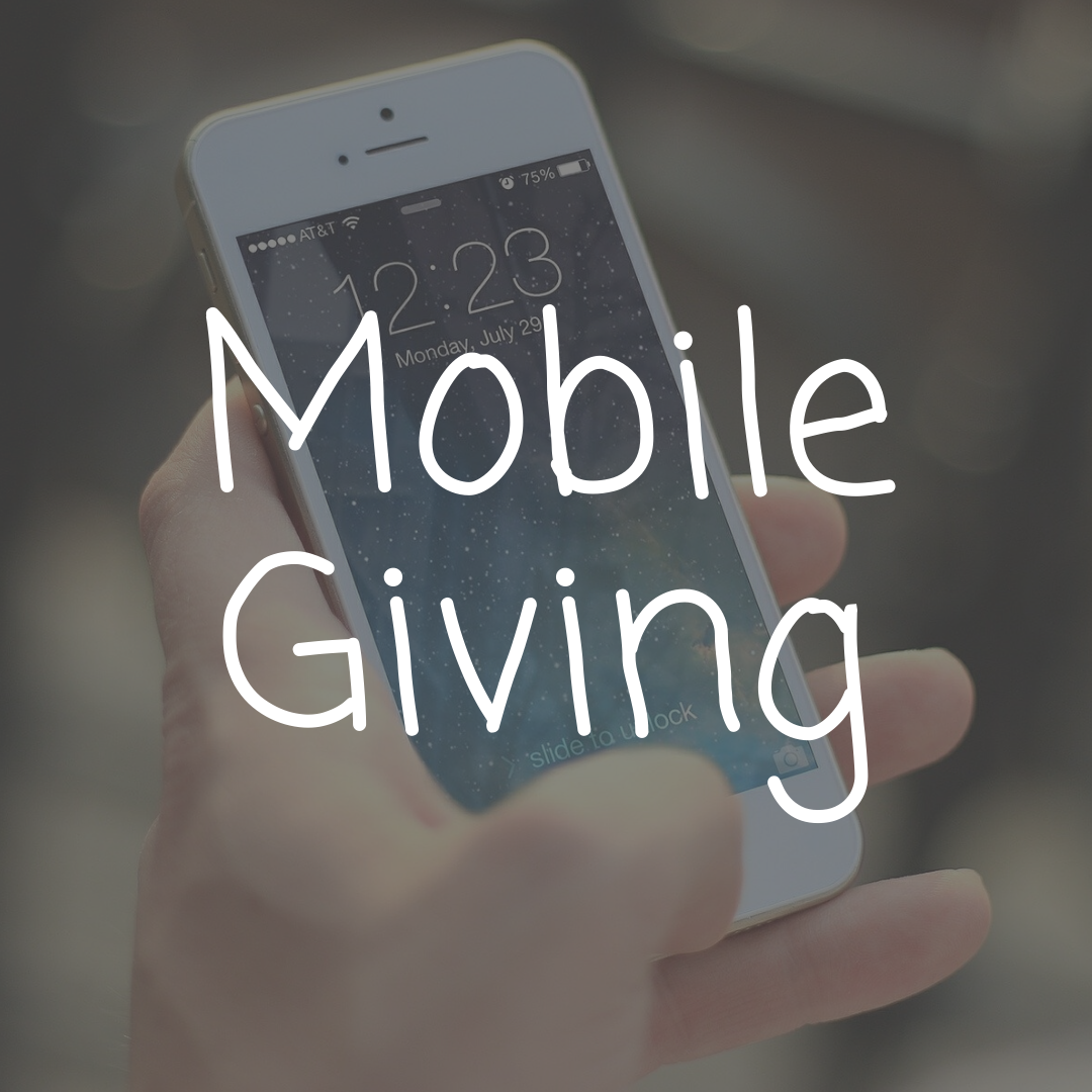 ways to give - mobile giving