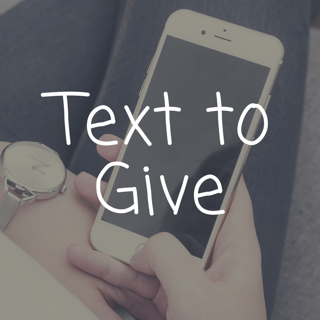 ways to give - text to give