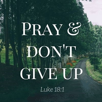 a abPray n Dont give up