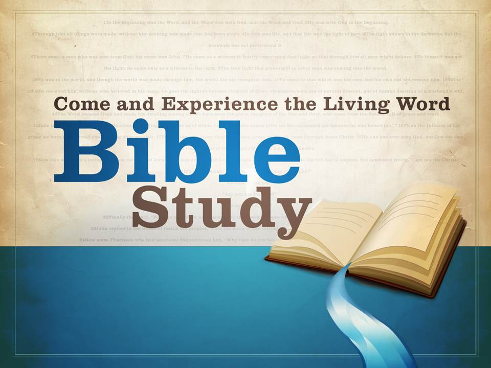 Graphic - Bible Study
