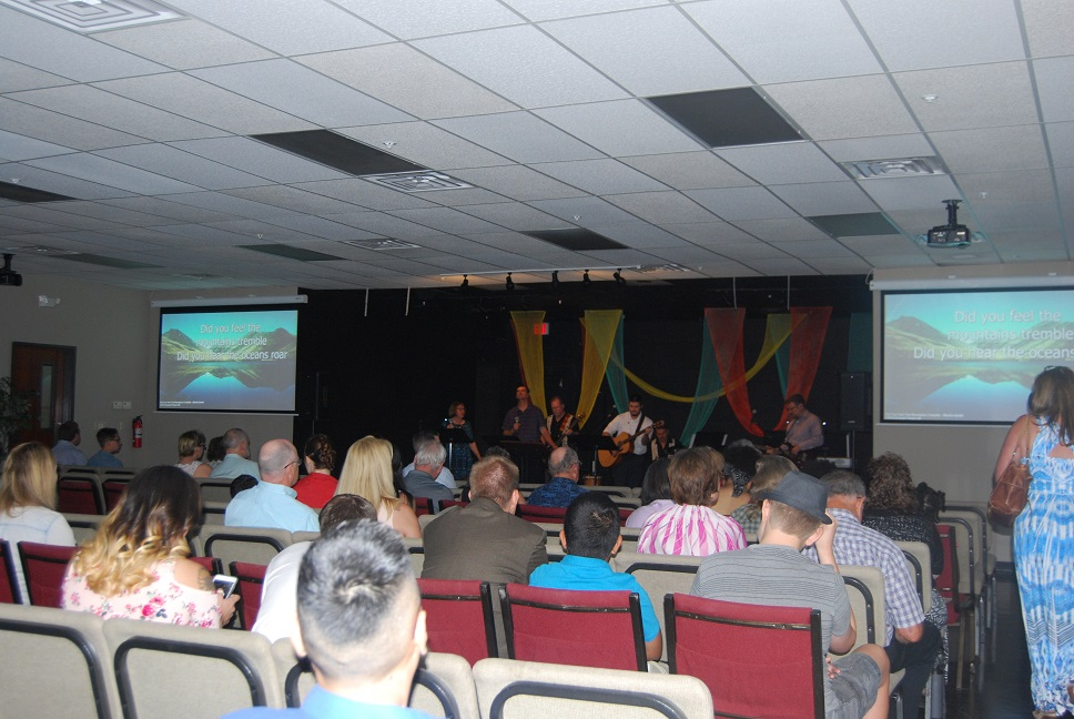 Image - Easter Sunday New Bldg.JPG