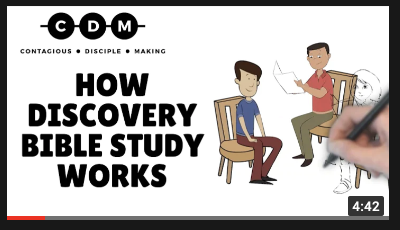 How Discovery Bible Study Works