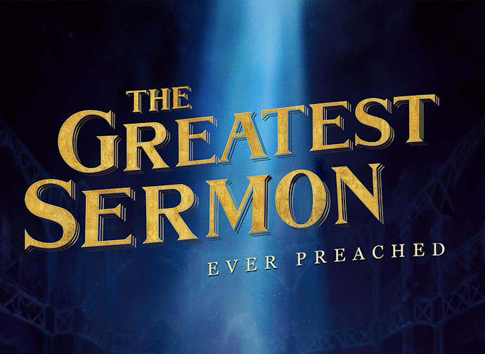 The Greatest Sermon Ever banner