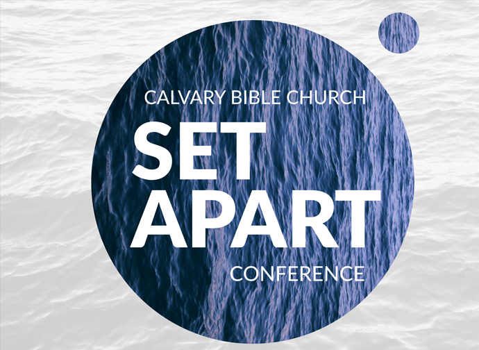 Set Apart: A Conference on Holiness banner