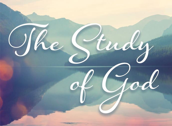 SS_The Study of God
