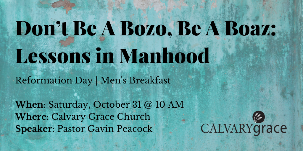Don't Be A Bozo, Be A Boaz_ Lessons in Manhood image