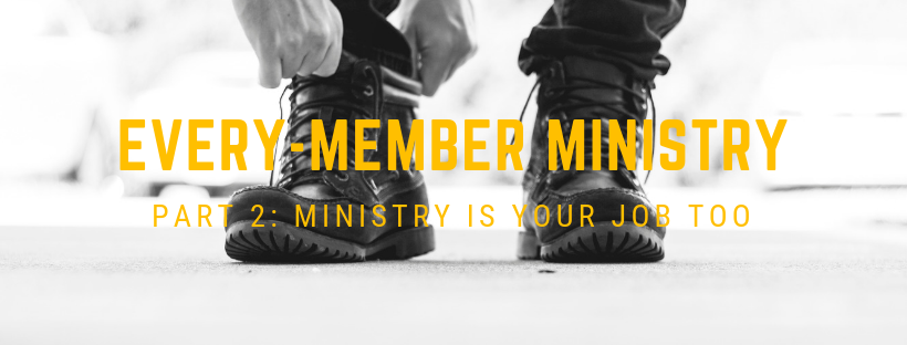 Blog: EVERY-MEMBER MINISTRY 2