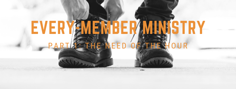 Blog: EVERY-MEMBER MINISTRY