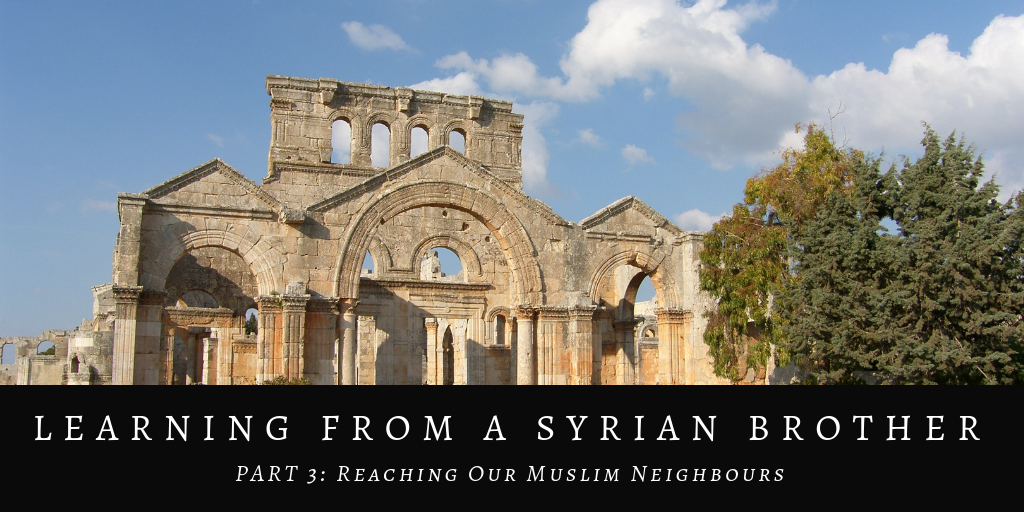 Learning from a Syrian Brother 3 (Final)