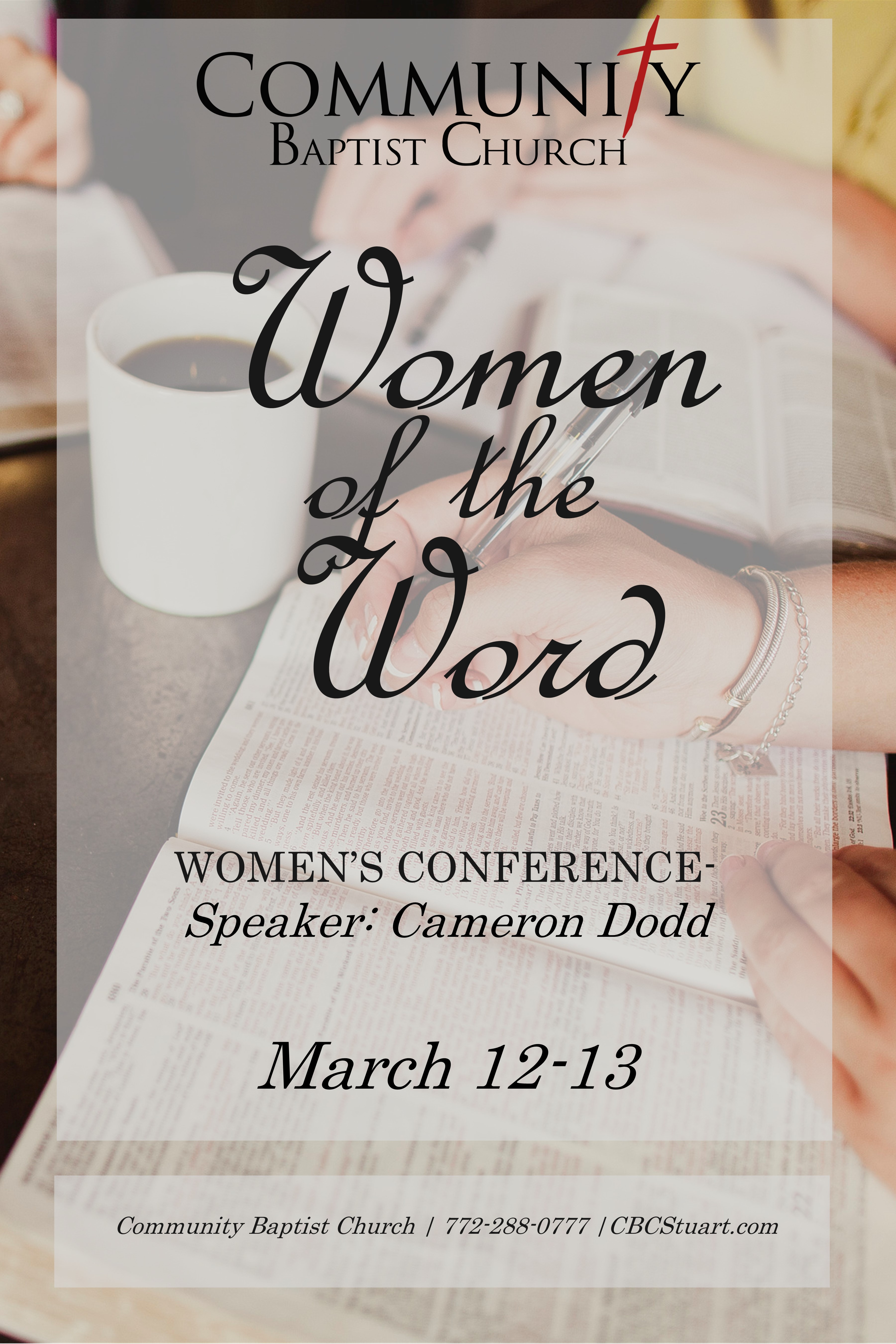 Womens Conference Poster 2021