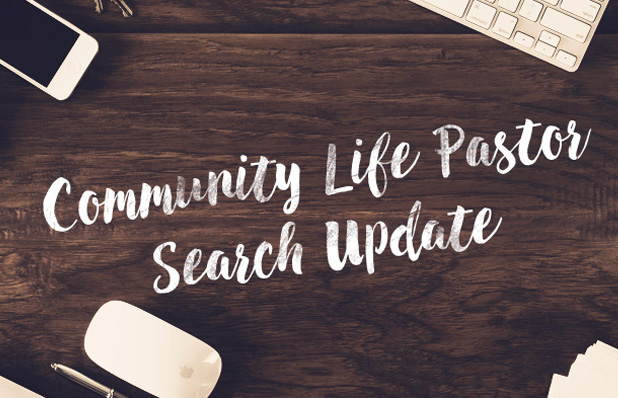 Community Life Pastor Post Featured Image