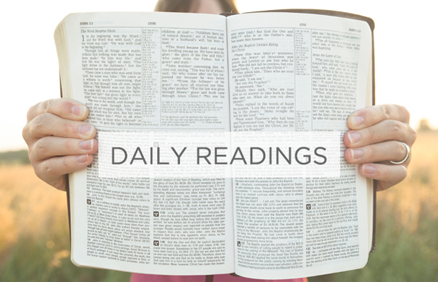 Daily Readings Post Feature Image