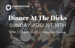 YoungAdults_DinnerAtTheDicks_August18_2019_WebEvent image