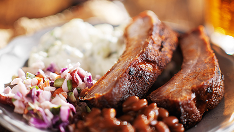 Ribs_PotatoSalad_Slaw