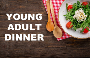 Young Adult Dinner calendar image
