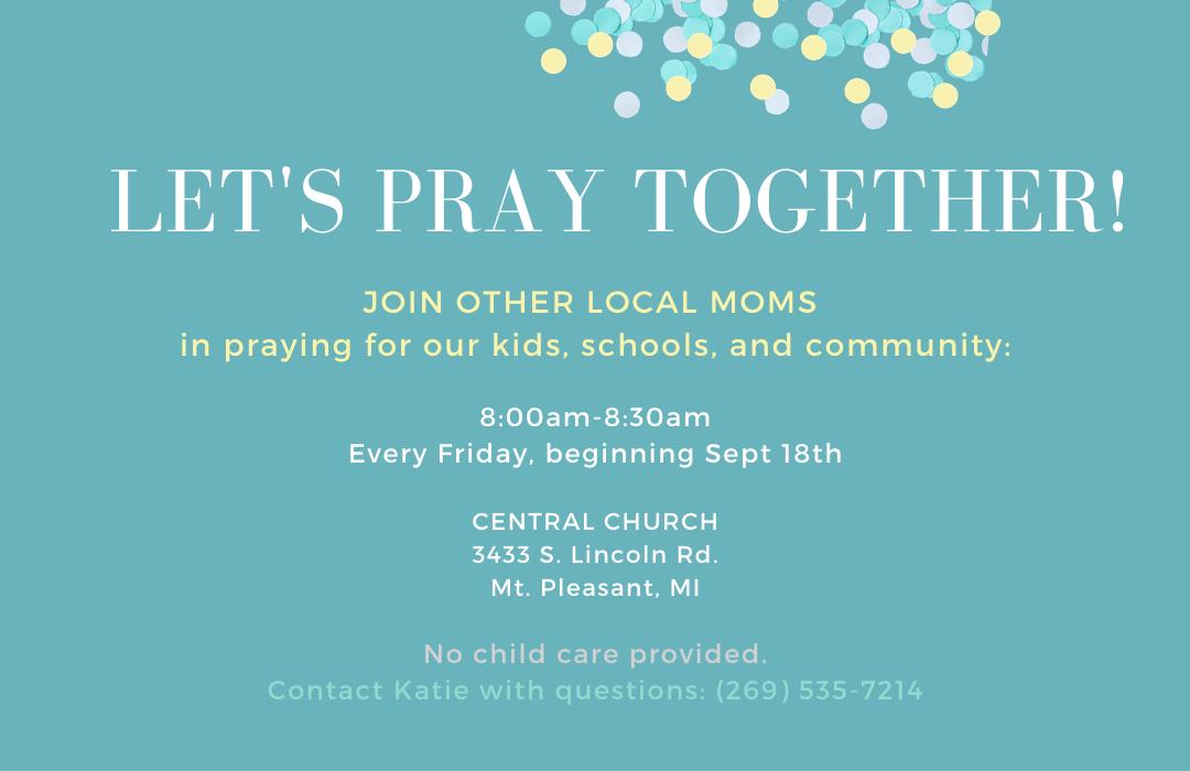 Copy of Let's Pray Moms! image