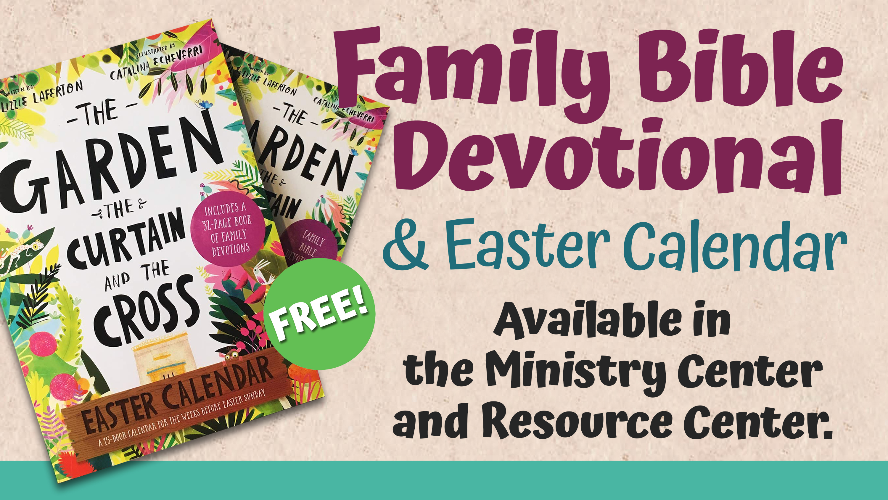 3  Family Bible Easter Devotional image