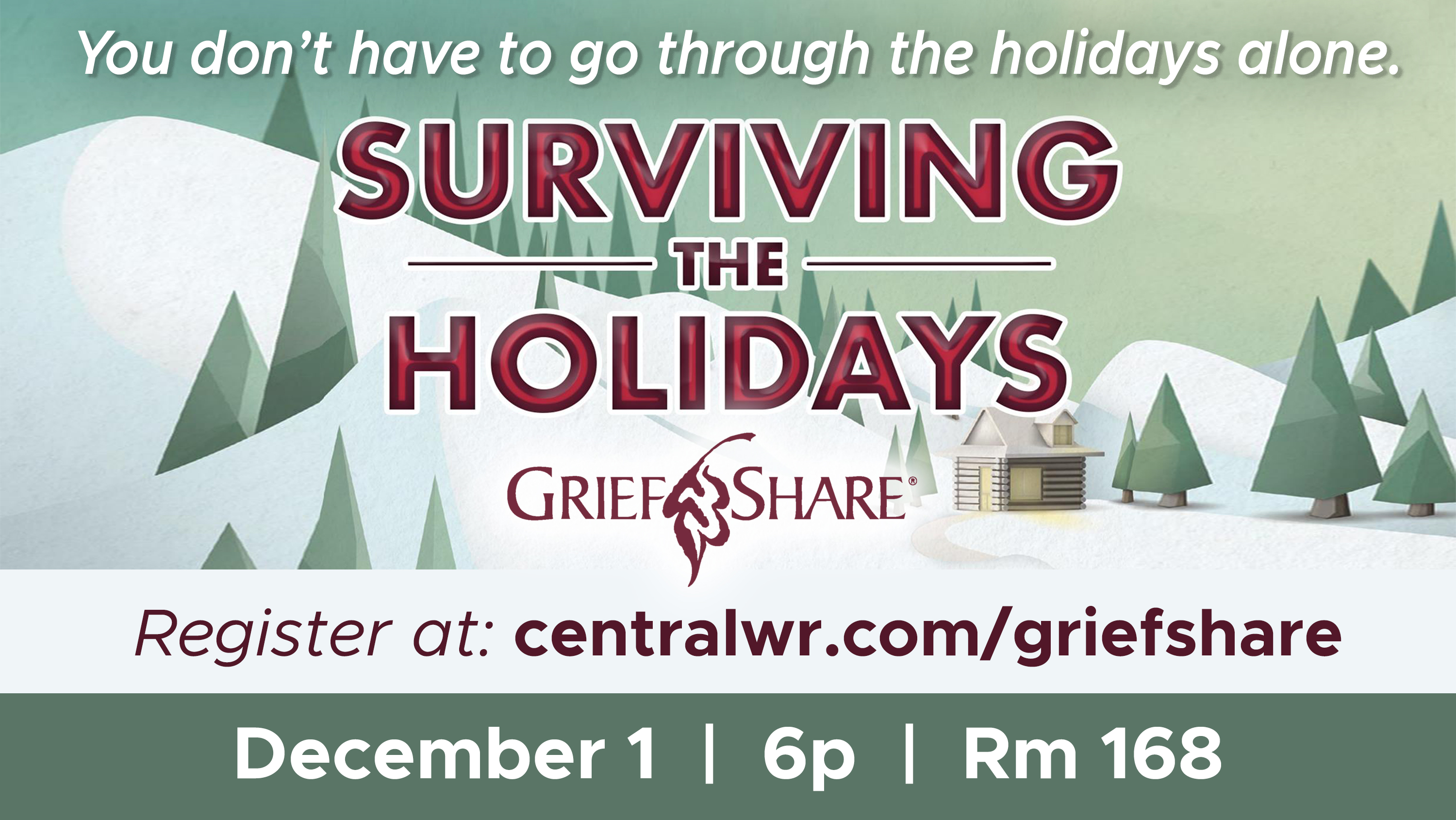 7.5  Surviving the Holidays_GRIEFSHARE ad