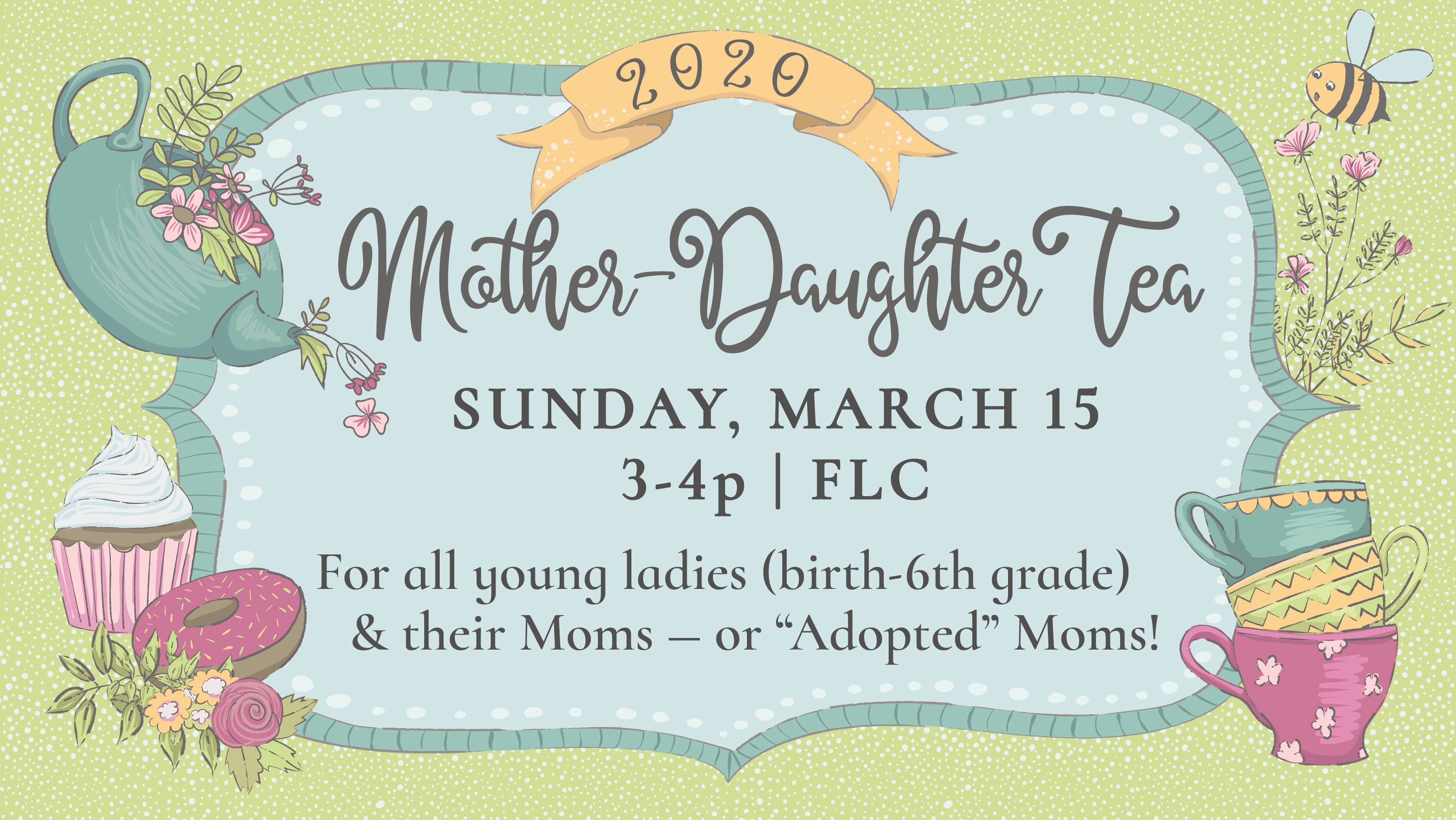 8  Mother Daughter Tea 2020 image