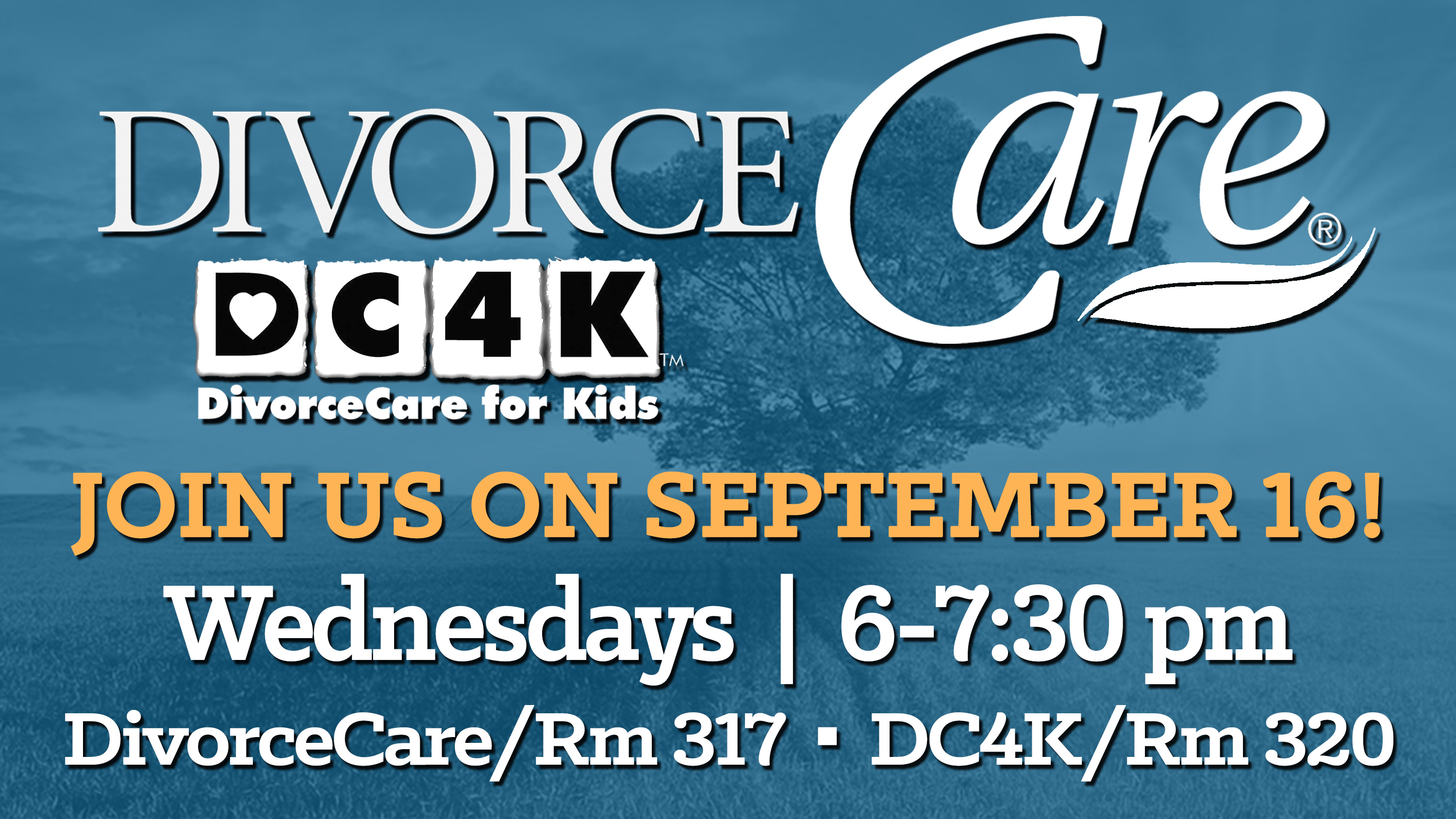 DivorceCare and DC4K image
