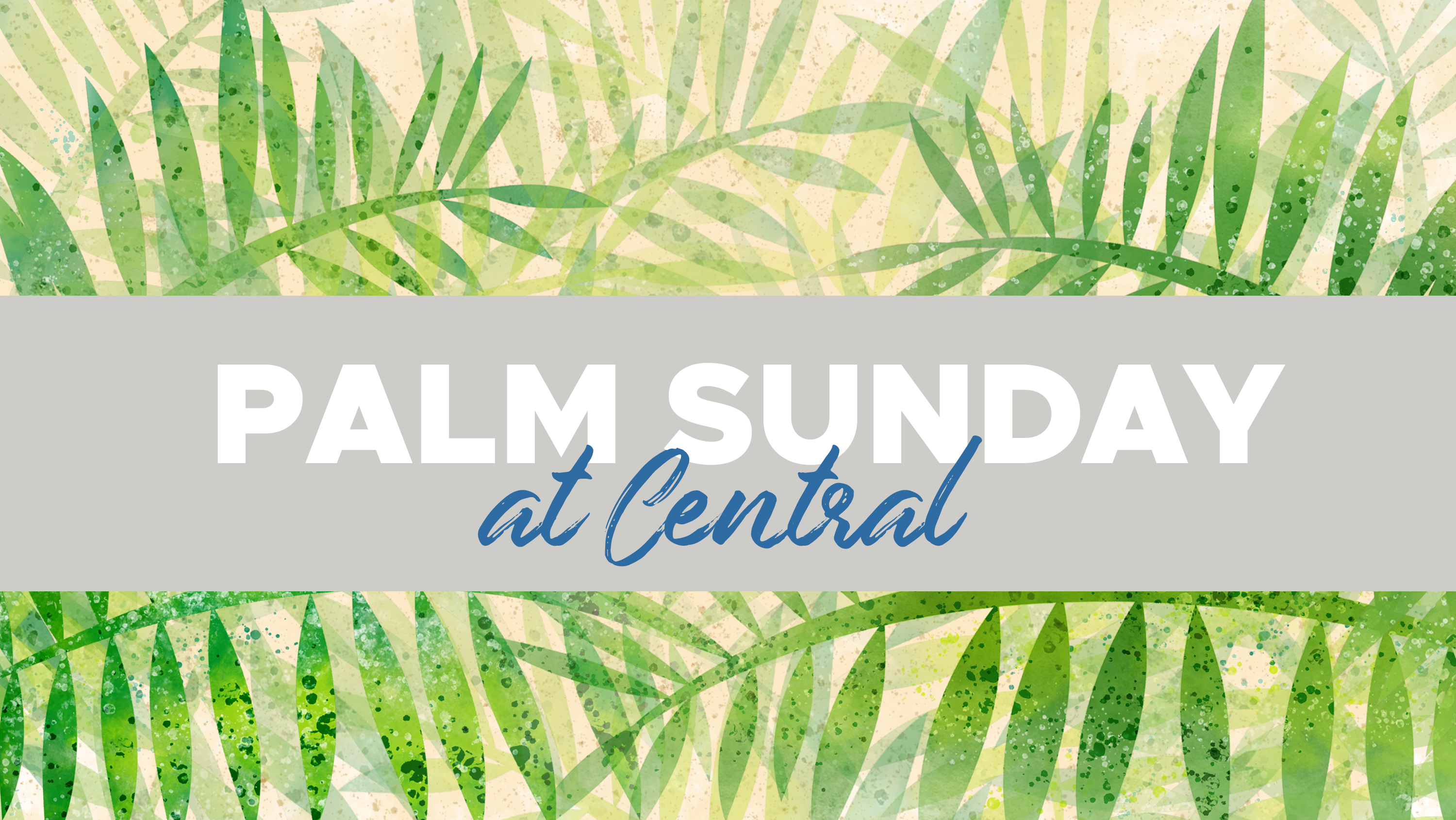 Palm Sunday 2019 ad image