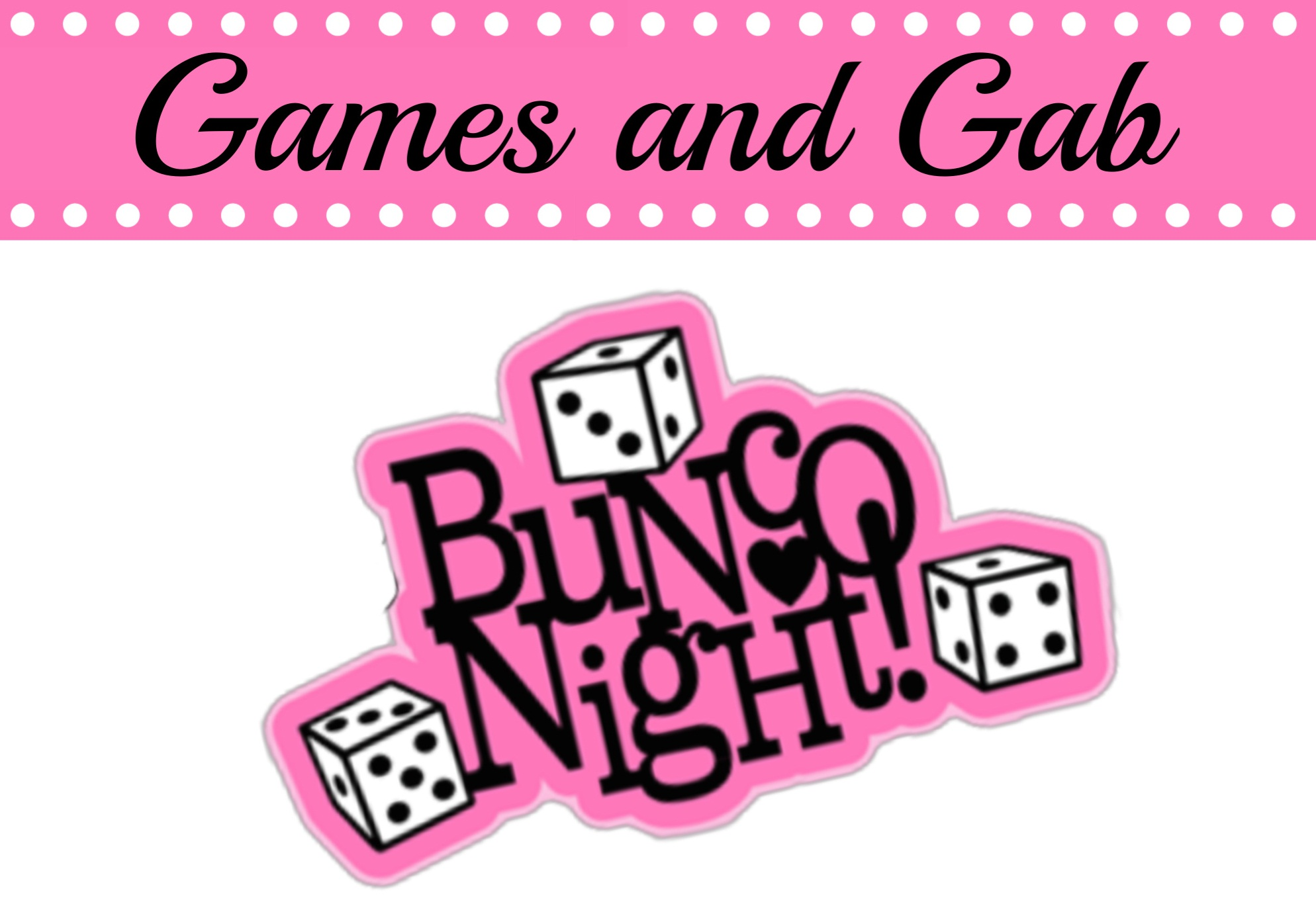 games and gab bunco generic event image image
