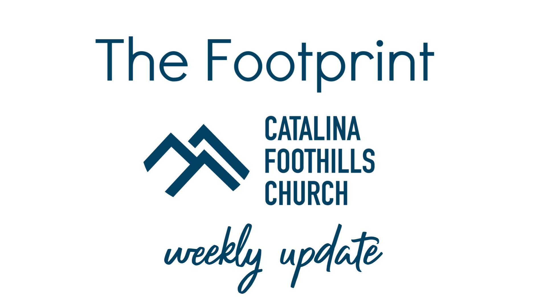 The Footprint header
