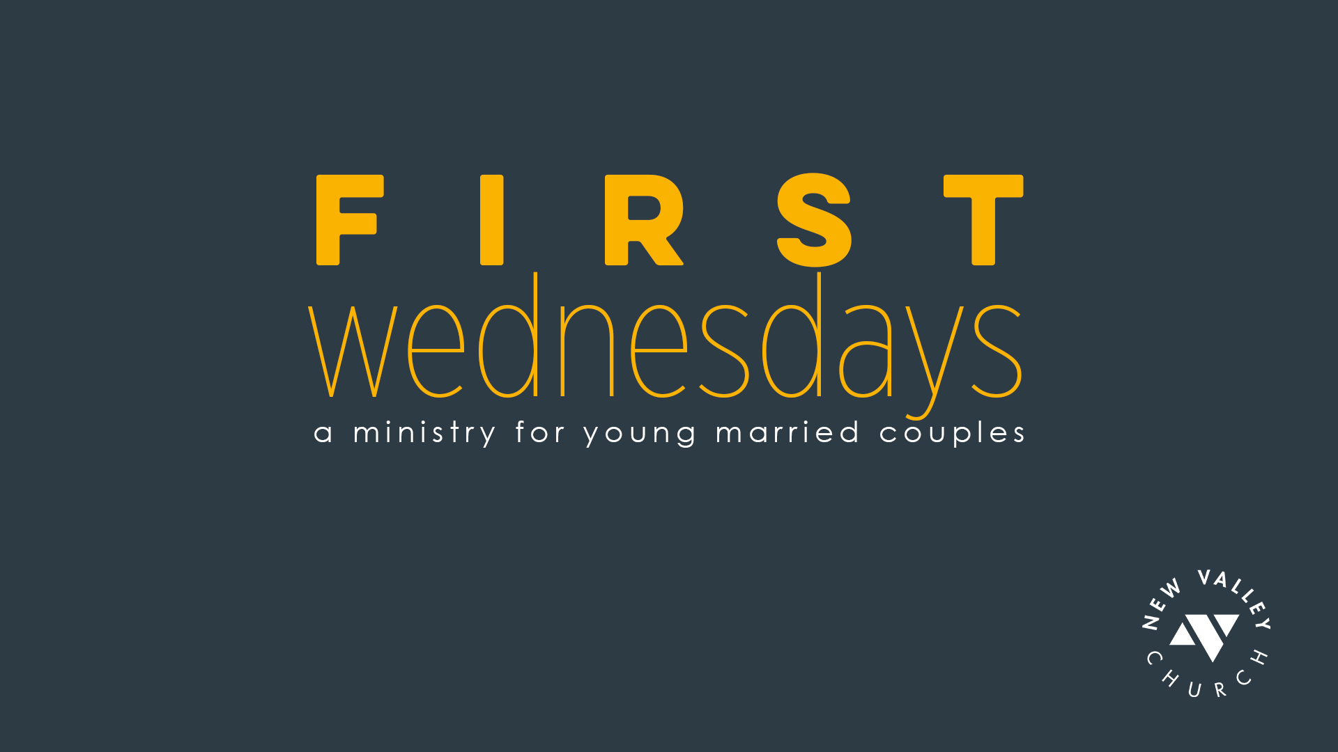 First Wed title 16x9 image