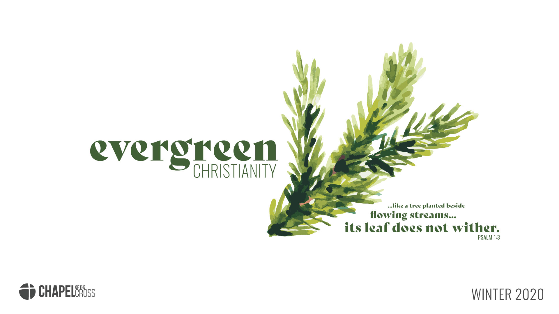Evergreen-series-title image