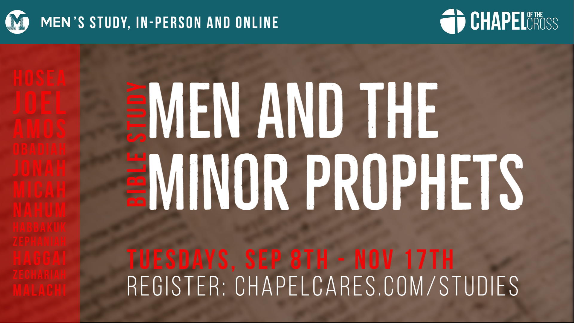 Men Minor Prophet (2) image