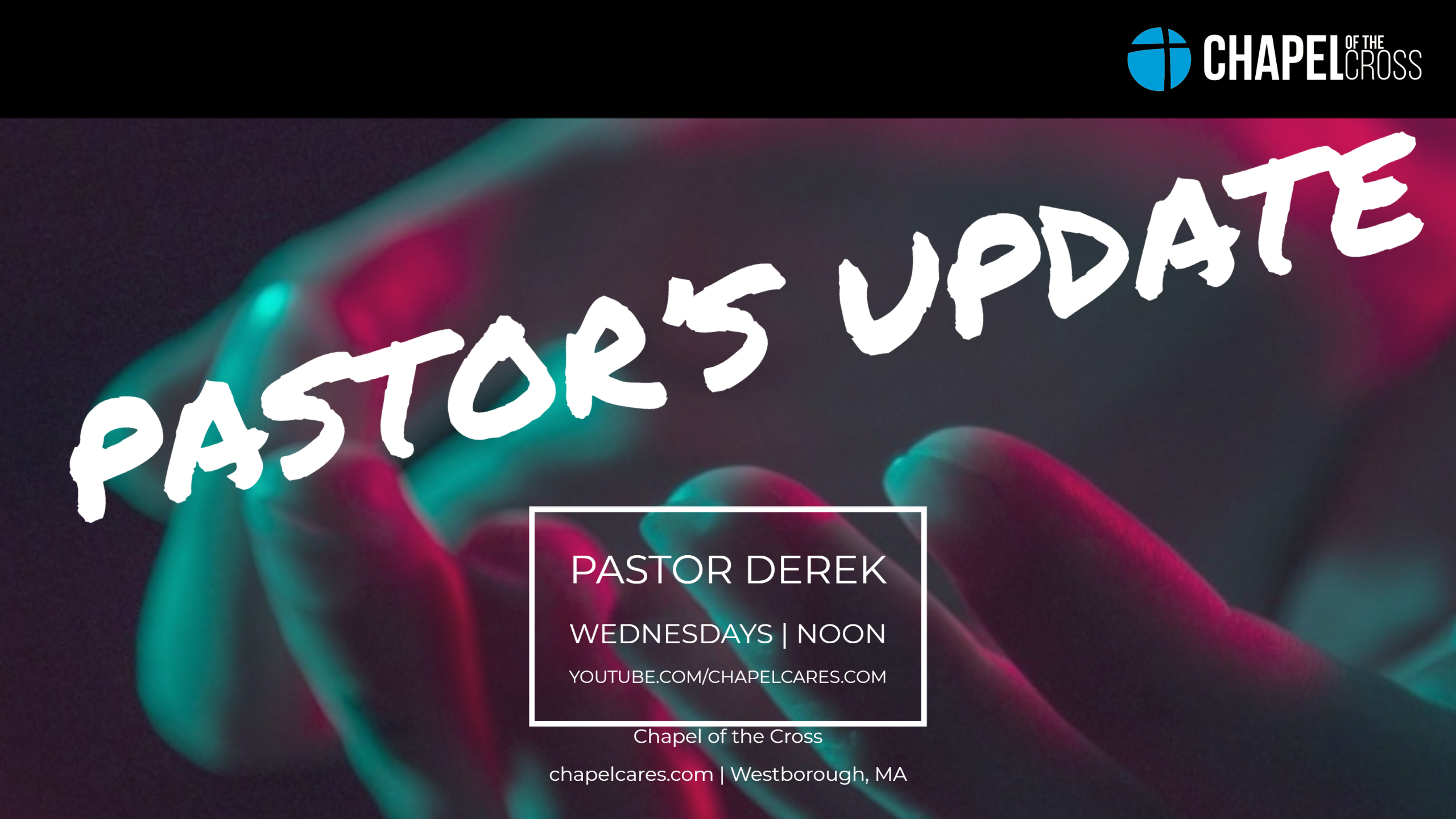 Wednesday Pastor Update image